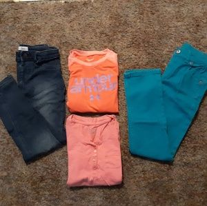 Other - Mixed Lot Girl's Clothing, Jeans/Jeggings, Tops